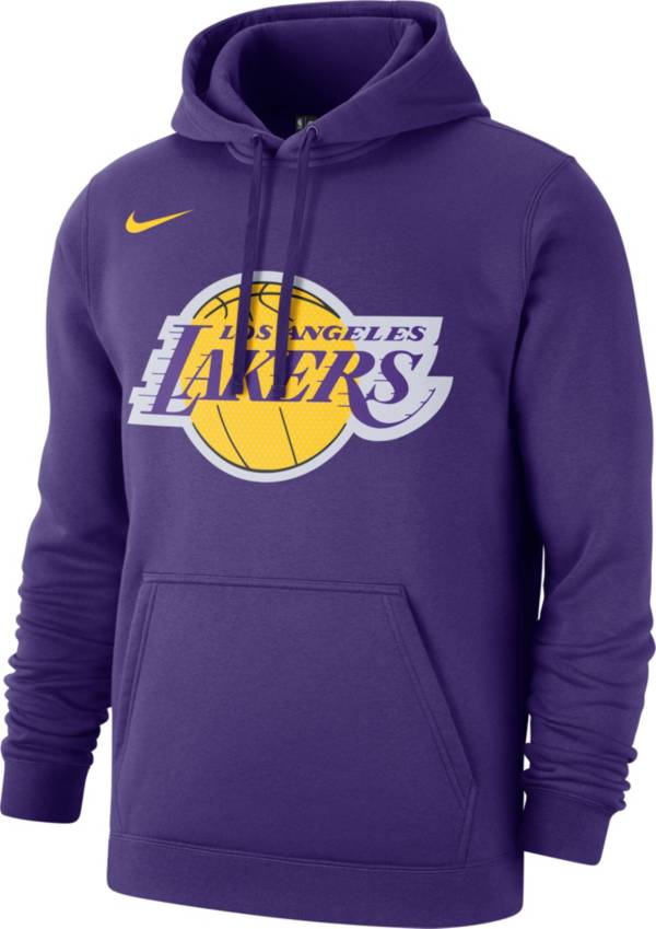 Nike Men S Los Angeles Lakers Pullover Hoodie Dick S Sporting Goods