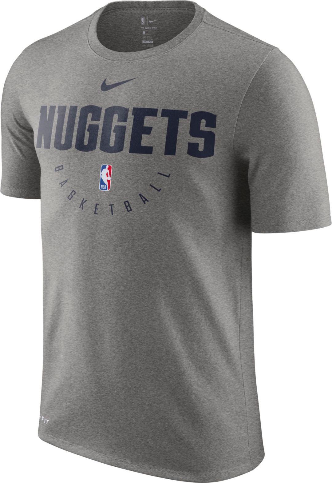 Nike Men's Denver Nuggets Dri FIT Practice T Shirt