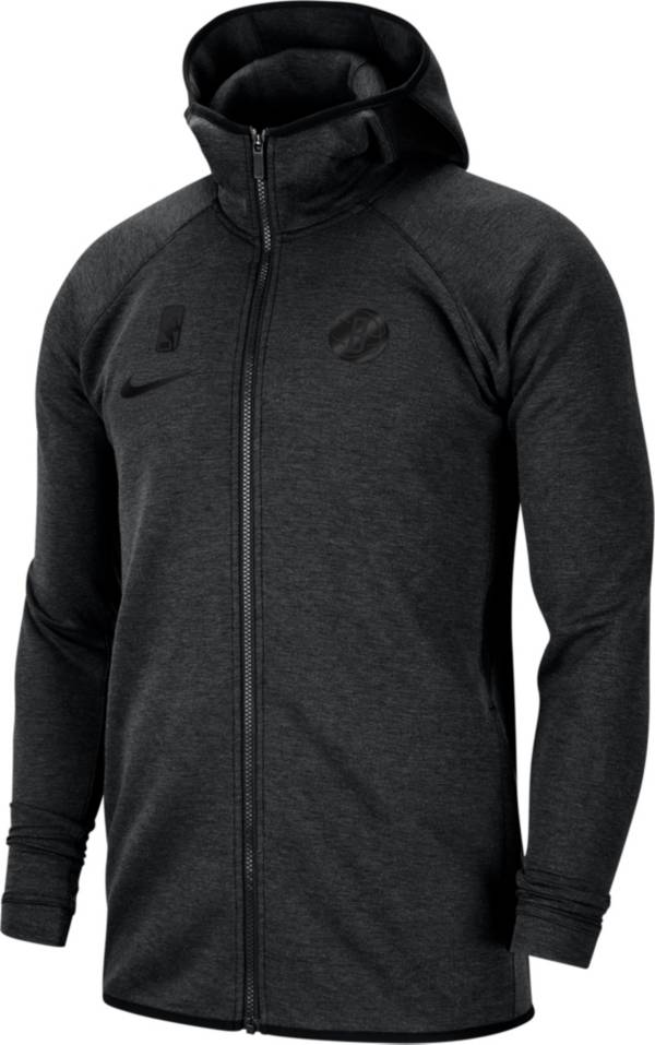 Nike Men's Brooklyn Nets On-Court Dri-FIT Showtime Full-Zip Hoodie product image
