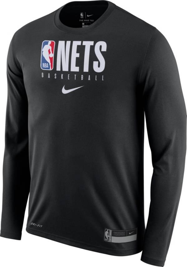 Nike Men's Brooklyn Nets Dri-FIT Practice Long Sleeve Shirt product image
