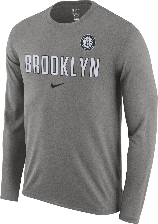 bf018d05 Nike Men's Brooklyn Nets Dri-FIT Facility Long Sleeve Shirt. noImageFound.  Previous