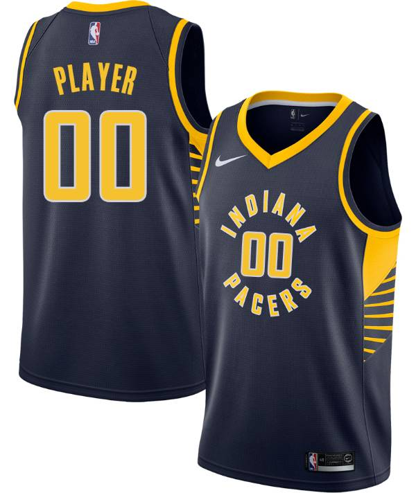 Nike Men's Full Roster Indiana Pacers Navy Dri-FIT Swingman Jersey product image