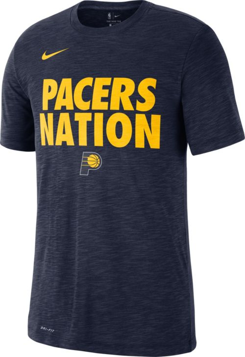 "ee947e2b43fc Nike Men s Indiana Pacers Dri-FIT ""Pacer Nation"" T-Shirt. noImageFound.  Previous"