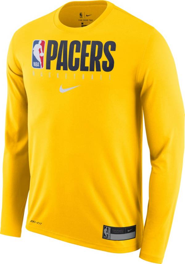 Nike Men's Indiana Pacers Dri-FIT Practice Long Sleeve T-Shirt product image