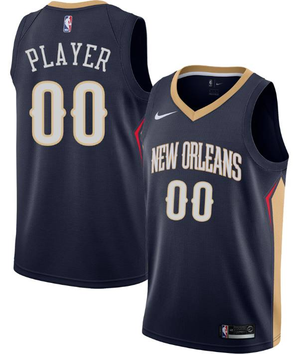 Nike Men's Full Roster New Orleans Pelicans Navy Dri-FIT Swingman Jersey product image