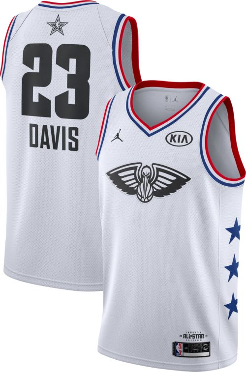 10822ab9c7b Jordan Men's 2019 NBA All-Star Game Anthony Davis White Dri-FIT Swingman  Jersey. noImageFound. Previous