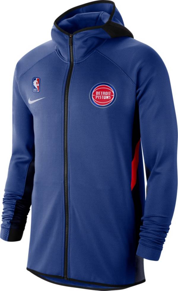 Nike Men's Detroit Pistons On-Court Therma Flex Showtime Full-Zip Hoodie product image
