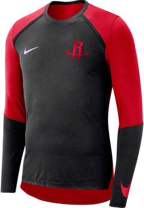 cbf372bc Nike Men's Houston Rockets Dri-FIT Long Sleeve Shirt. noImageFound. Previous