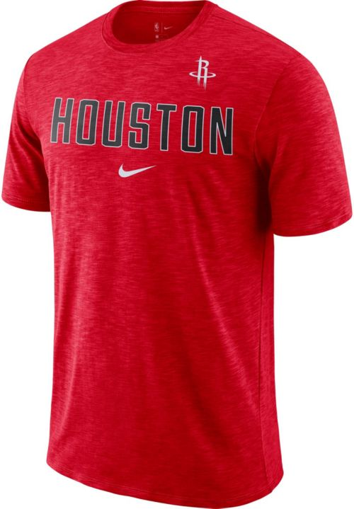 eaa29cf0b Nike Men s Houston Rockets Dri-FIT Facility T-Shirt