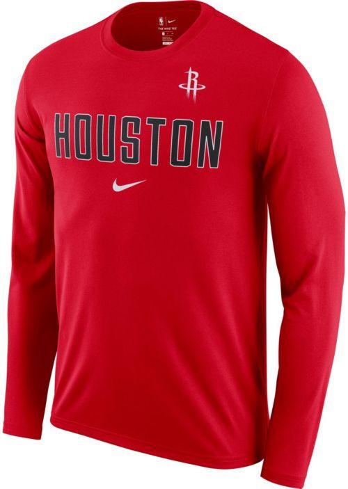 fb67b142e813 Nike Men s Houston Rockets Dri-FIT Facility Long Sleeve Shirt.  noImageFound. Previous