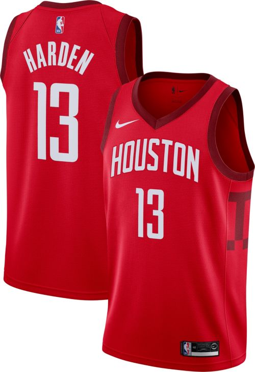 Nike Men s Houston Rockets James Harden Dri-FIT Earned Edition Swingman  Jersey. noImageFound. Previous 3d0ac2980
