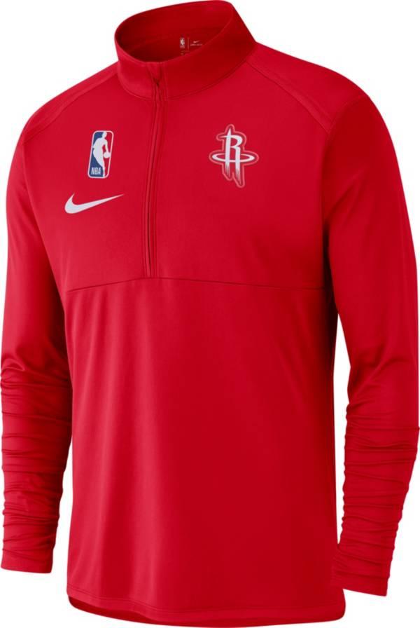 Nike Men's Houston Rockets Dri-FIT Element Half-Zip Pullover product image