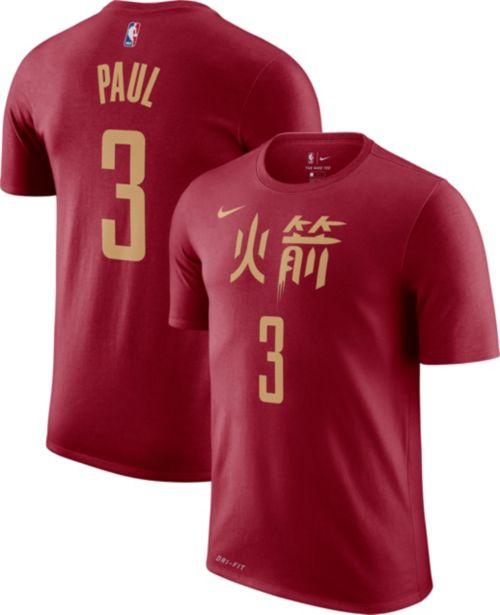Nike Men s Houston Rockets Chris Paul Dri-FIT City Edition T-Shirt.  noImageFound. Previous cf39a11eb