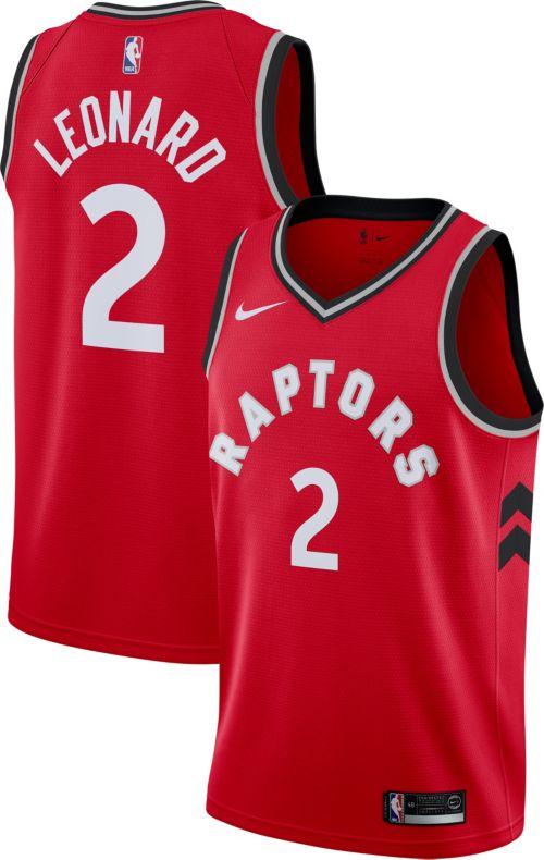 9d8d7ceddaf2 Nike Men s Toronto Raptors Kawhi Leonard  2 Red Dri-FIT Swingman Jersey.  noImageFound. Previous