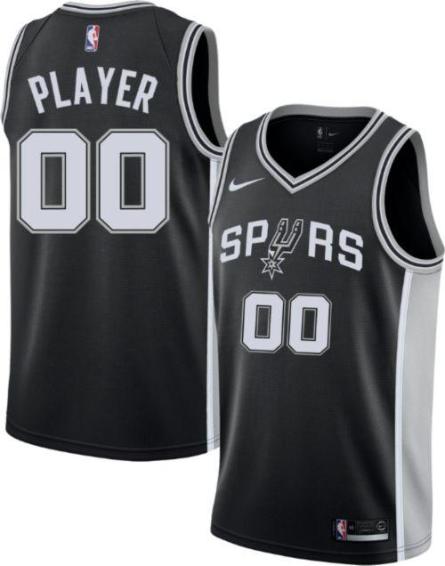 9be0803c371 Nike Men's Full Roster San Antonio Spurs Black Dri-FIT Swingman ...