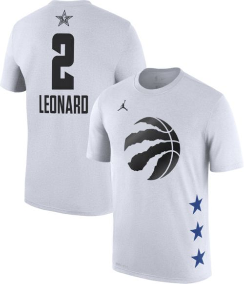 10e223b2b07a Jordan Men s 2019 NBA All-Star Game Kawhi Leonard Dri-FIT White T-Shirt.  noImageFound. Previous