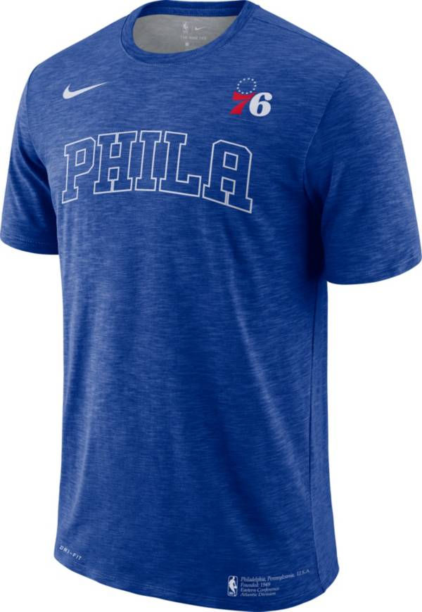 Nike Men's Philadelphia 76ers Dri-FIT Facility T-Shirt product image