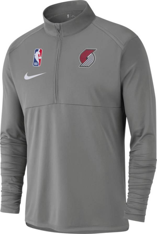 Nike Men's Portland Trail Blazers Dri-FIT Element Half-Zip Pullover product image