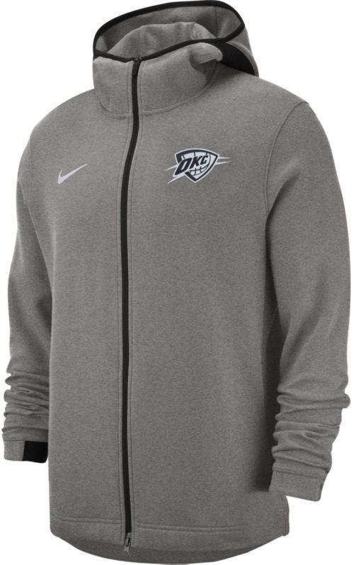 4712fbbb3 Nike Men s Oklahoma City Thunder On-Court Dri-FIT Showtime Full-Zip ...