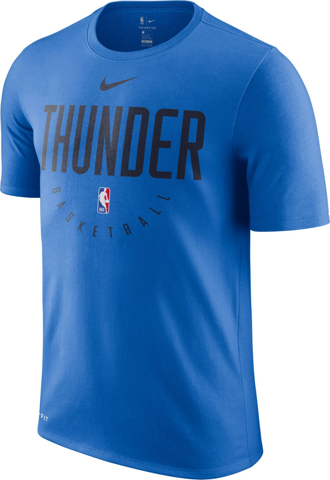 62bc8916 Nike Men's Oklahoma City Thunder Dri-FIT Practice T-Shirt | DICK'S ...