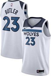 sports shoes bae74 77325 Nike Men's Minnesota Timberwolves Jimmy Butler #23 White Dri-FIT Swingman  Jersey