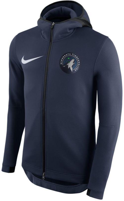 012b5ac5c6347 Nike Men s Minnesota Timberwolves On-Court Therma Flex Showtime Full ...