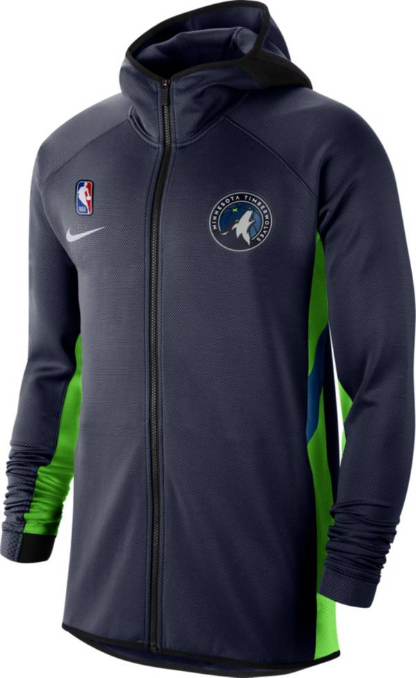 Nike Men's Minnesota Timberwolves On-Court Therma Flex Showtime Full-Zip Hoodie product image