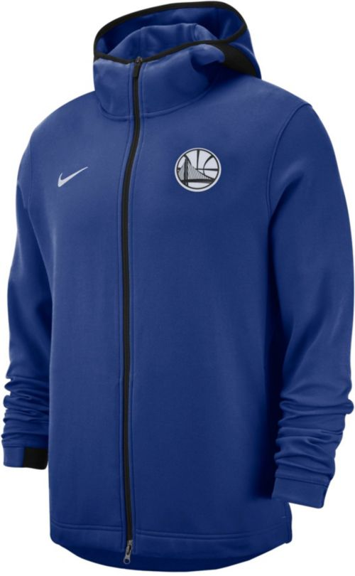 a74e6cfb3 Nike Men s Golden State Warriors On-Court Dri-FIT Showtime Full-Zip ...