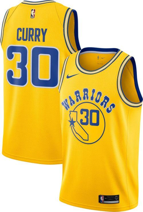 cb30a8640 Nike Men s Golden State Warriors Stephen Curry Dri-FIT Hardwood Classic Swingman  Jersey. noImageFound. Previous