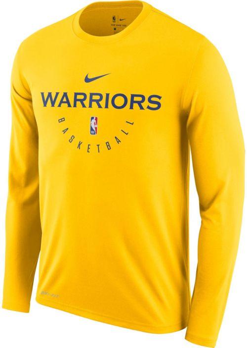 68a35d03 Nike Men's Golden State Warriors Dri-FIT Practice Long Sleeve Shirt.  noImageFound. Previous