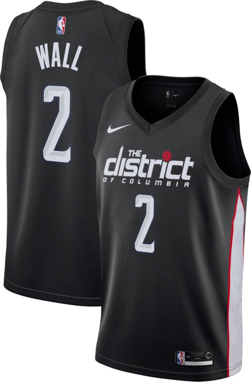 Nike Men s Washington Wizards John Wall Dri-FIT City Edition Swingman Jersey.  noImageFound. Previous 33d97bb22