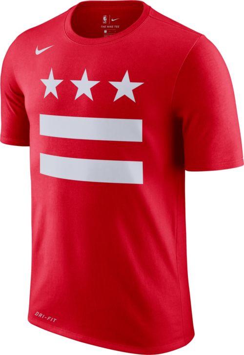 e5bb3550a84 Nike Men's Washington Wizards Dri-FIT Earned Edition T-Shirt. noImageFound.  Previous. 1
