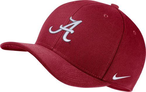 35acc85659af Nike Men s Alabama Crimson Tide Crimson Classic99 Swoosh Flex Hat.  noImageFound. Previous