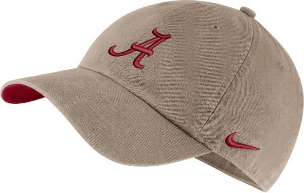 Nike Men's Alabama Crimson Tide Tan Washed Heritage86 Hat product image