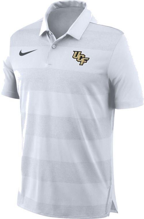 651f360c6 Nike Men's UCF Knights White Early Season Football Polo | DICK'S ...