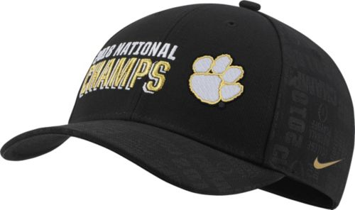 649030afc3d6 Nike Men s 2018 National Champions Clemson Tigers Locker Room Hat.  noImageFound. Previous