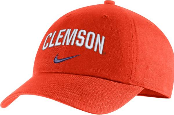 Nike Men's Clemson Tigers Orange Heritage86 Arch Wordmark Hat product image