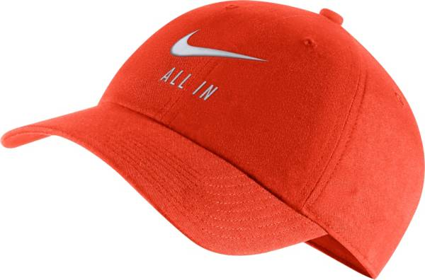 Nike Men's Clemson Tigers Orange Heritage86 Adjustable Hat product image