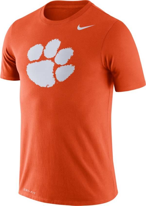 Nike Men's Clemson Tigers Orange Logo Dry Legend T-Shirt product image