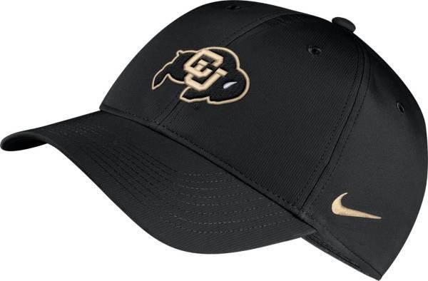 Nike Men's Colorado Buffaloes Legacy91 Adjustable Black Hat product image