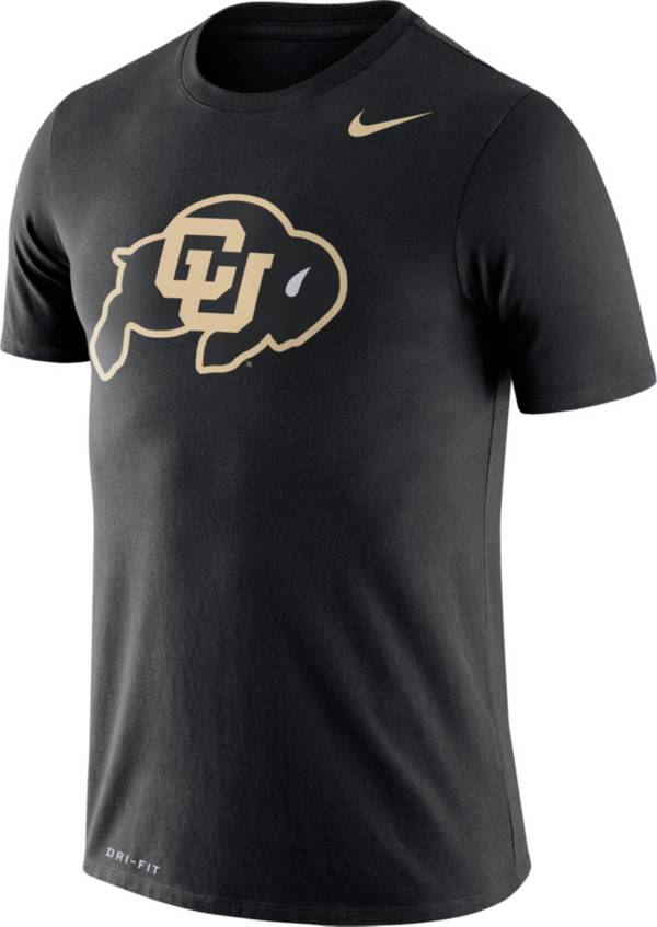 Nike Men's Colorado Buffaloes Logo Dry Legend Black T-Shirt product image