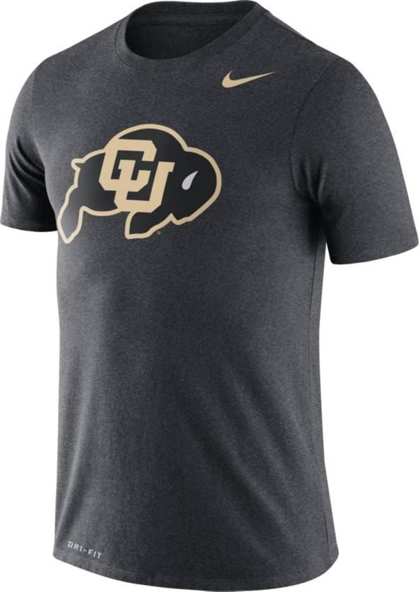 Nike Men's Colorado Buffaloes Grey Logo Dry Legend T-Shirt product image