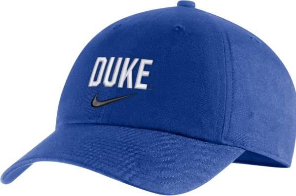 Nike Men's Duke Blue Devils Duke Blue Heritage86 Arch Wordmark Hat product image