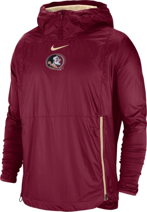 promo code 85d12 98bf1 Nike Men s Florida State Seminoles Garnet Pullover Fly Rush Jacket.  noImageFound. Previous