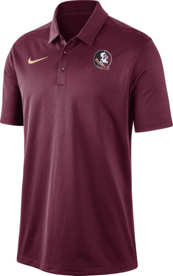 Nike Men's Florida State Seminoles Garnet Dri-FIT Franchise Polo product image