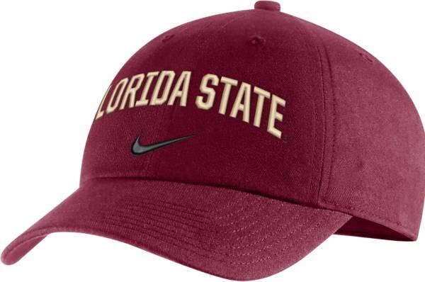 Nike Men's Florida State Seminoles Garnet Heritage86 Arch Wordmark Hat product image