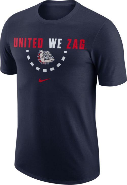 Nike Men S Gonzaga Bulldogs Blue Mantra Basketball T Shirt Dick S
