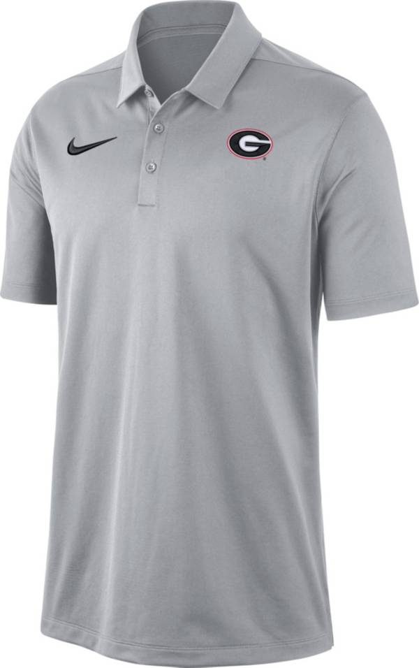 Nike Men's Georgia Bulldogs Grey Dri-FIT Franchise Polo product image