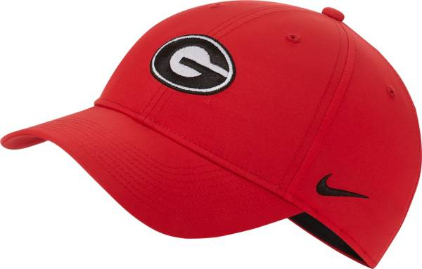 Nike Men's Georgia Bulldogs Red Legacy91 Adjustable Hat product image