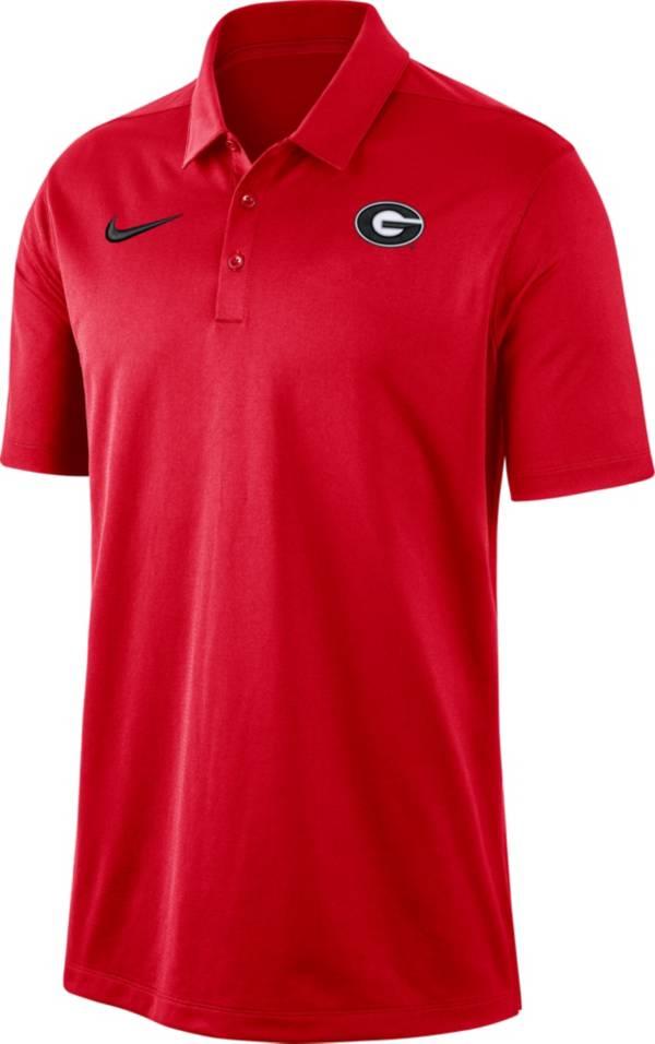 Nike Men's Georgia Bulldogs Red Dri-FIT Franchise Polo product image